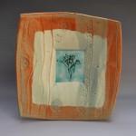 Stoneware plate (BM0104)