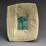 Porcelain plate (BM0106)