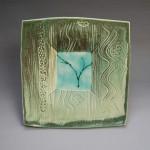Porcelain plate (BM0110)