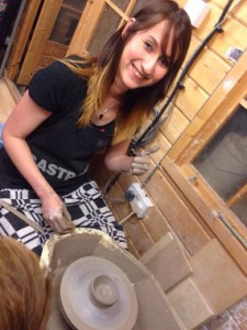 First go on the potter's wheel - a happy customer
